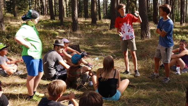 How we taught leadership at a church summer camp
